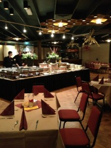 Restaurant Partycentrum Rendering