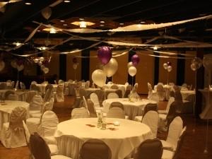 Bruiloftsarrangementen Partycentrum Rendering