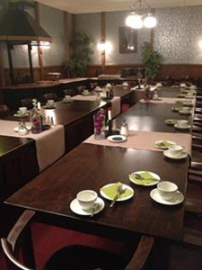 Vergaderzaal met buffet - Partycentrum Rendering Vlagtwedde