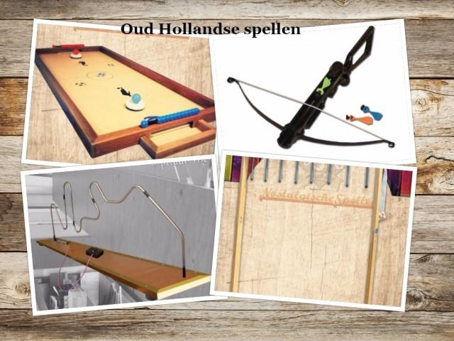 oud hollandse spellen